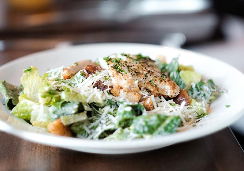 Mmm Chicken Caesar Salad