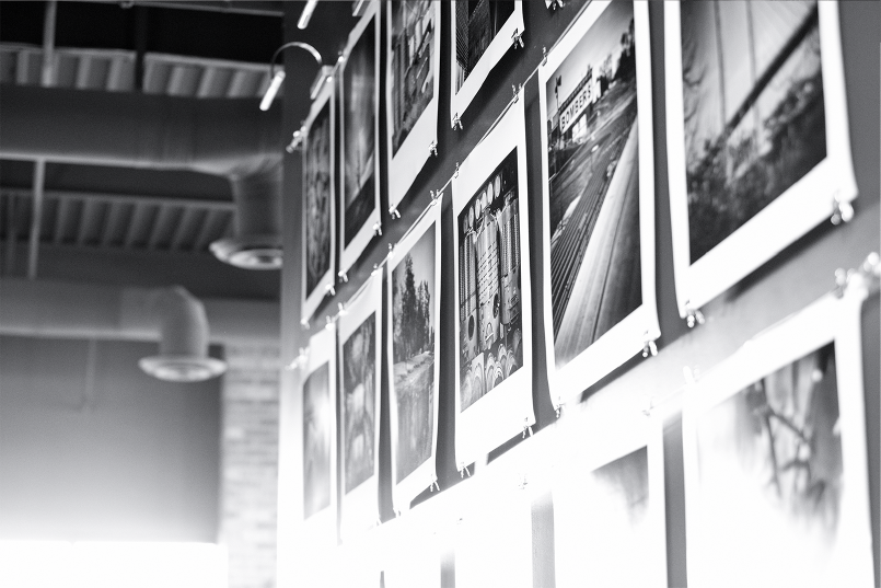 Proof Gastropub Interior Polaroids