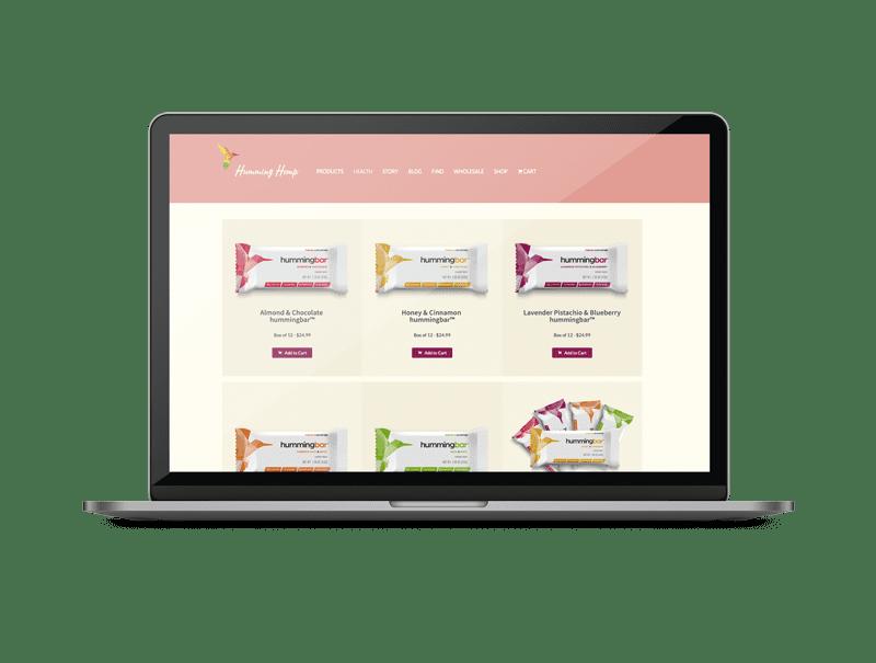 Humming-web-Mockup