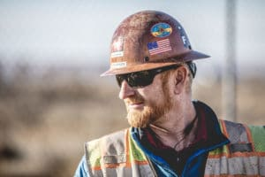 Construction worker - portrait photography by BrandCraft Marketing