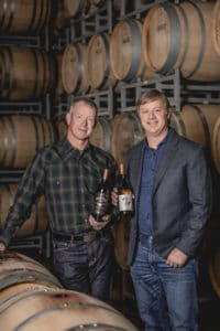 Mercer winery owners - portrait photography by BrandCraft Marketing