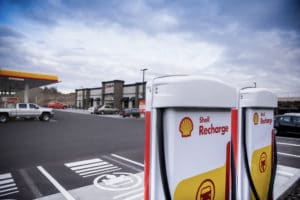 Shell Recharge Stations - product photography by BrandCraft Marketing