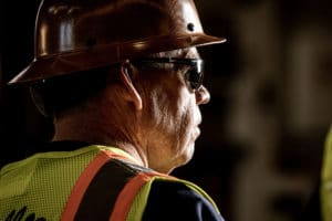 Construction worker - workplace photography by BrandCraft Marketing