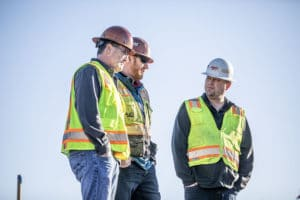 Construction workers - workplace photography by BrandCraft Marketing