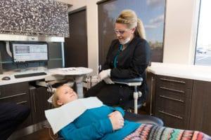 Dental Hygienist - at work photography by BrandCraft Marketing
