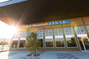 Badger Mountain Dental store front - photography by BrandCraft Marketing