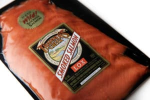 Alaska's Best Trappers Creek Smoked Salmon - Product Photography