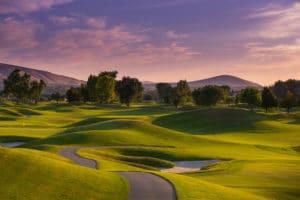 Golf Course - landscape photography by BrandCraft Marketing