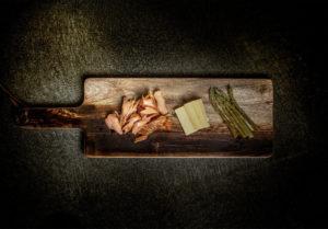 Salmon board food photography by BrandCraft Marketing