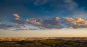 Landscape shot from thompson hill in Tri-Cities by BrandCraft Marketing