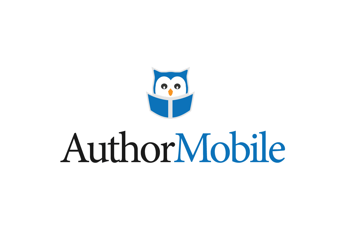 author mobile logo