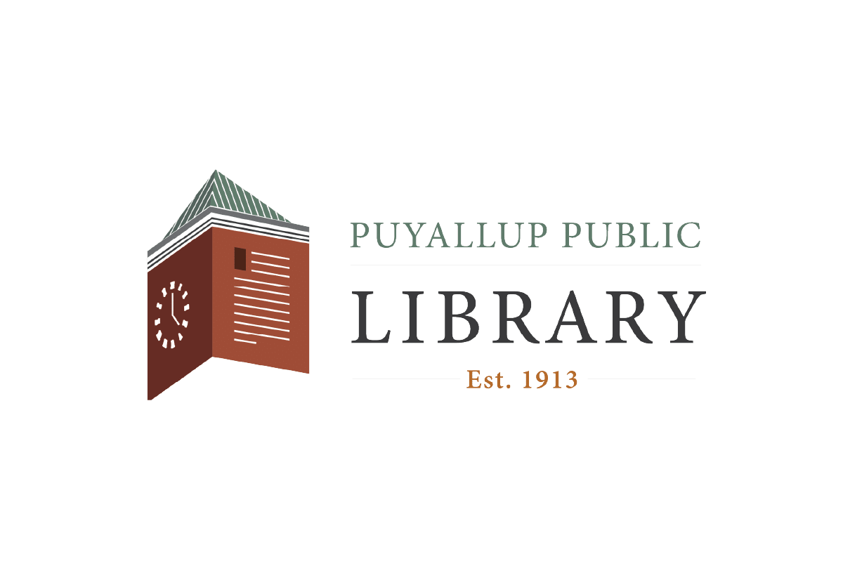 Puyallup public library logo