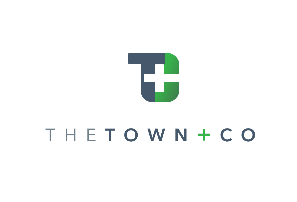 The Town + Co logo