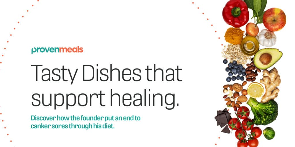 BrandCraft's client Proven Meals describing that tasty dishes support healing