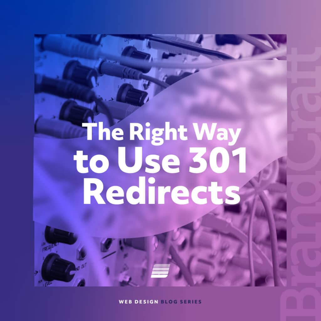 301 redirects and how you should use them