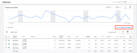 where the new Google Ads demographic information can be found