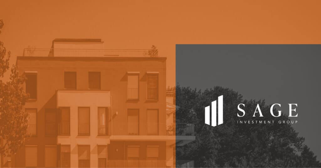 sage investment group banner with brand assets