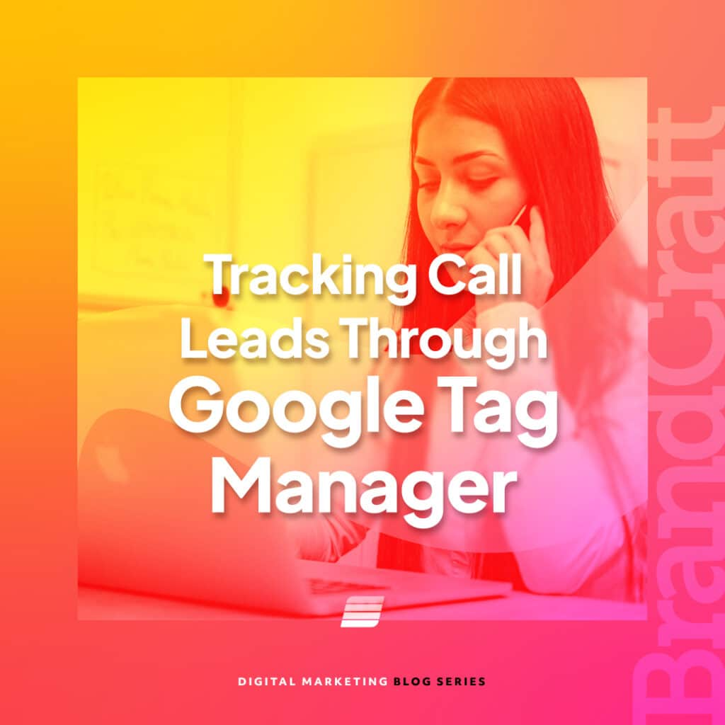 Google ad agency using tag manager for phone calls
