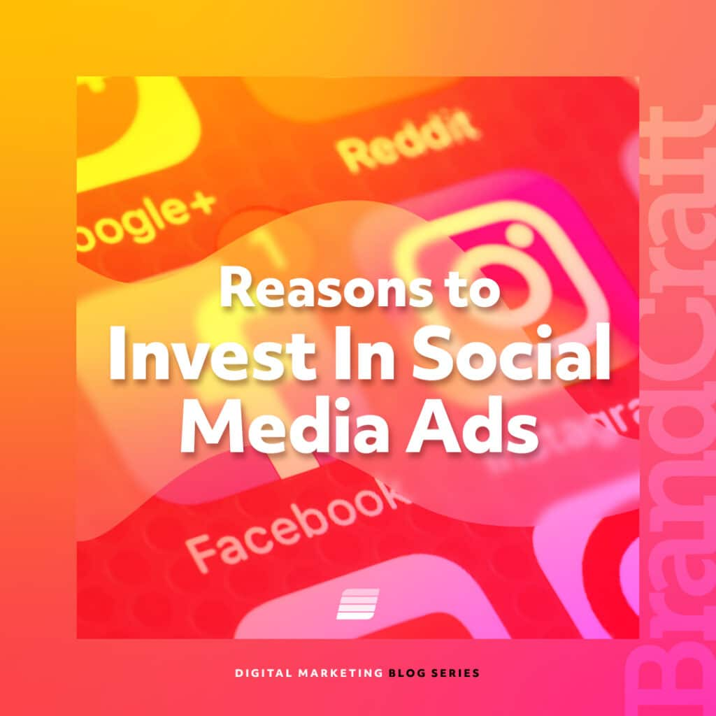 reasons to invest in social media ads