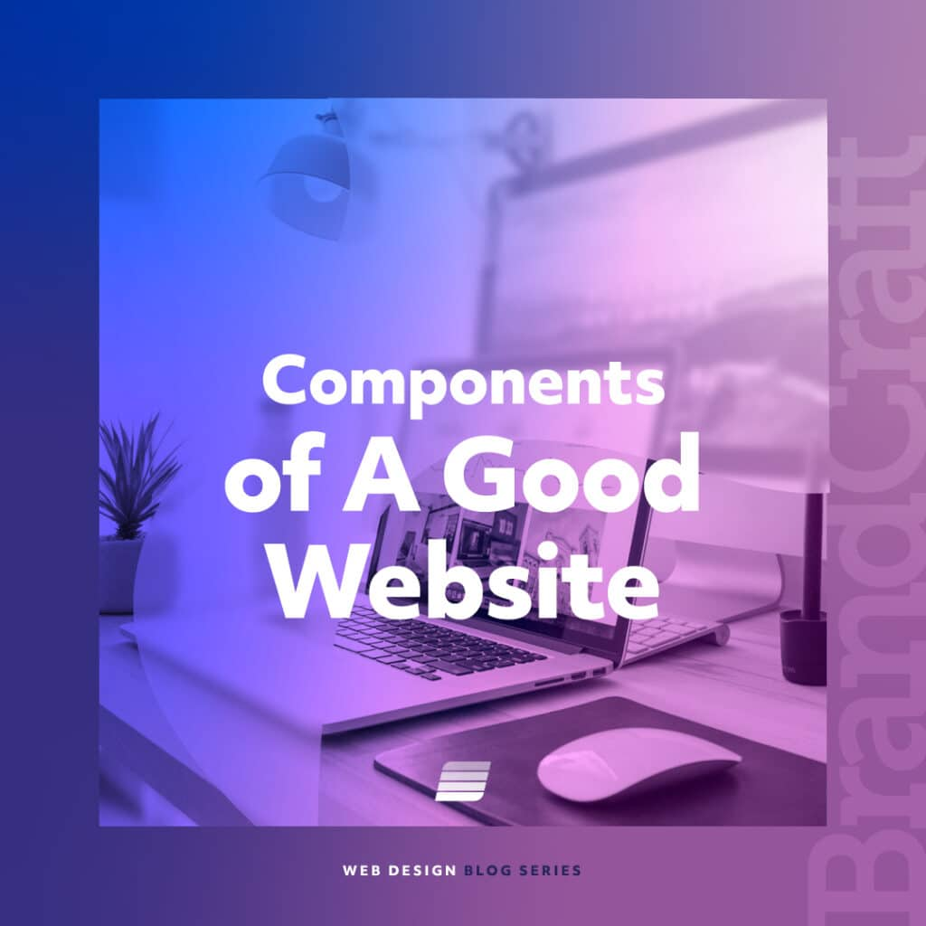 elements of a good website design