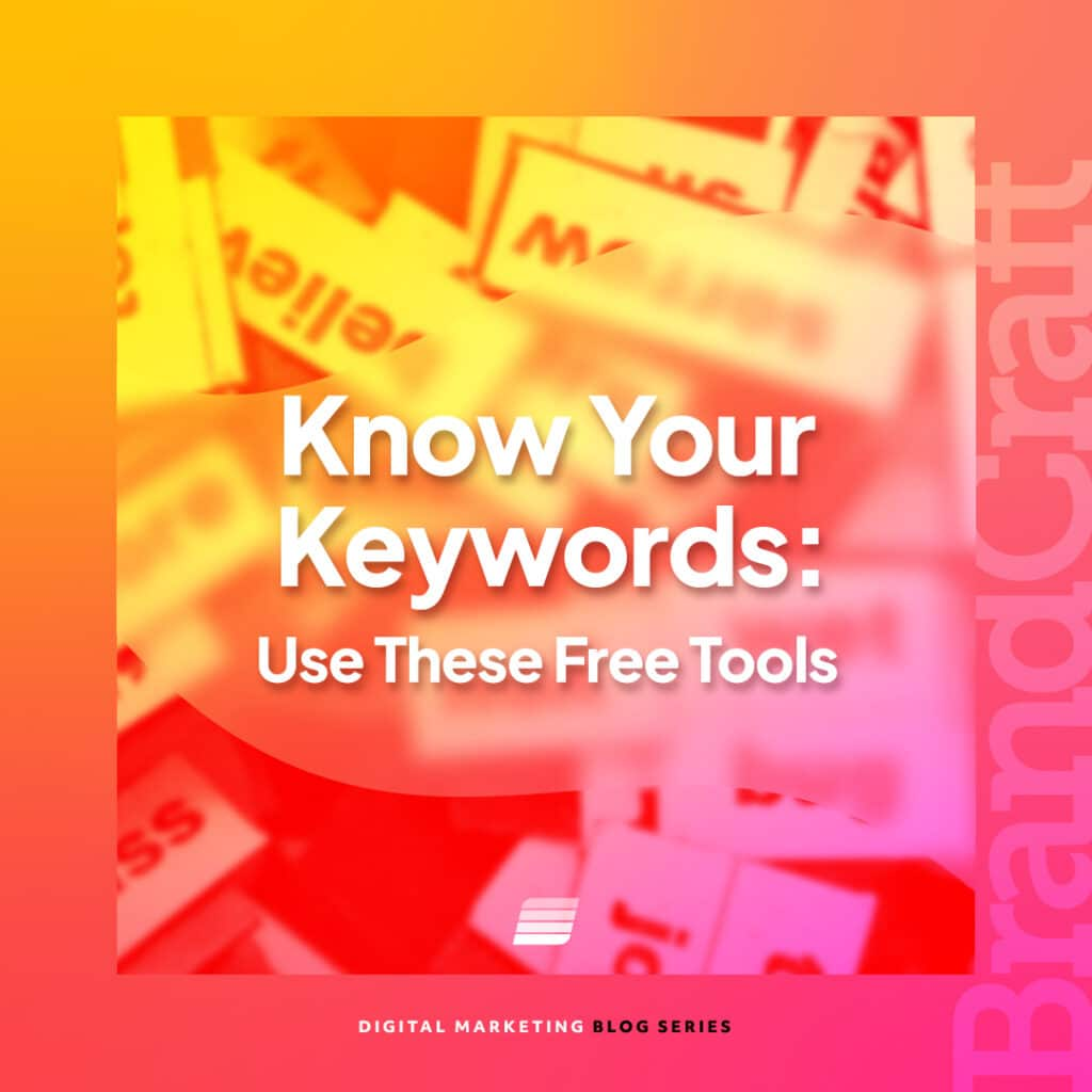Keyword research tools suggested by our SEO agency