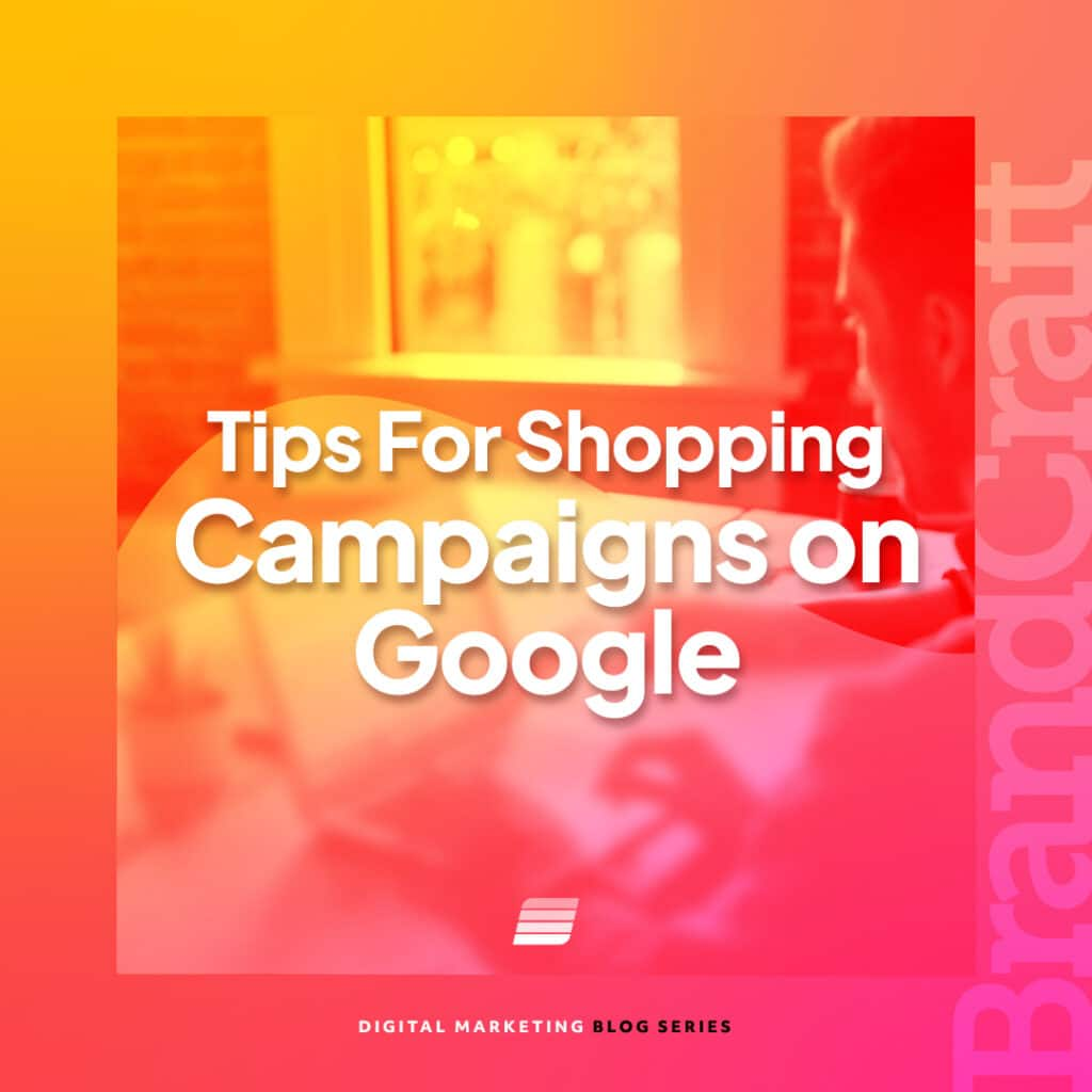 google shopping campaign tips