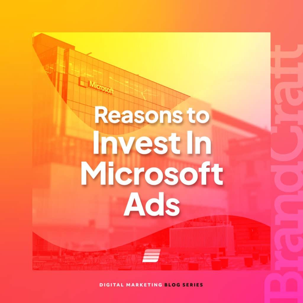 invest in microsoft ads